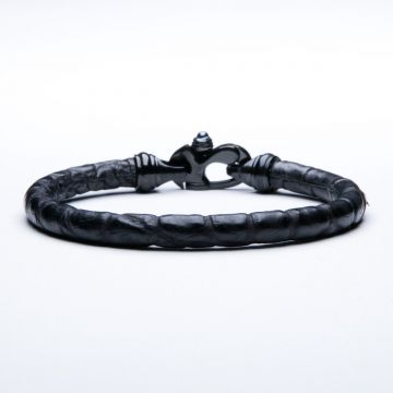 Alligator Trigger Clasp Men's Bracelet