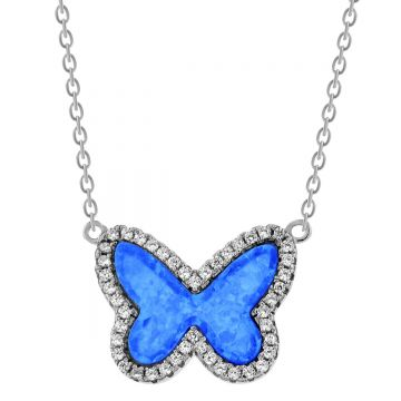 SS Butterfly Pendant
