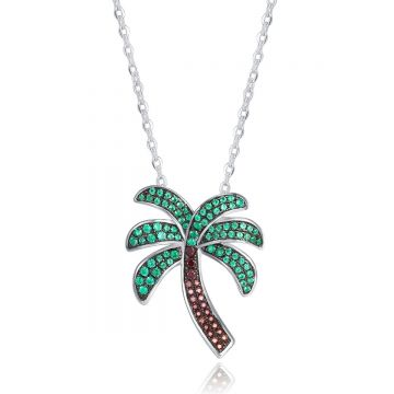 SS Palm Tree Pendant