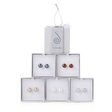 STS (Set of 5) 9-10mm Neutral FWP Ear Set w/ Happy Back