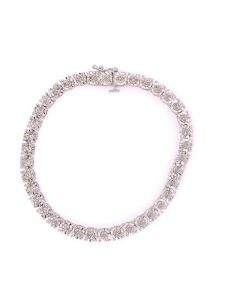 SS Diamond .30ct Tennis Bracelet Promo