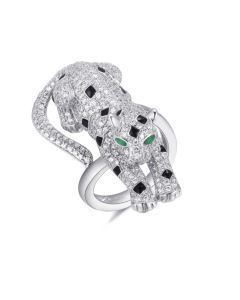 SS Spotted Panther Ring